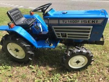 Iseki TU1400F 4WD Mini tractor/ Compact tractor | Garden