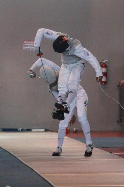 Physical endurance personified  | En Garde | Fence, Fencing
