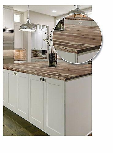 349 Home Decorators Collection 72 Inch X 25 5 Inch X 2 Inch Acacia Wood Kitchen Countertop Un Kitchen Remodel Small Kitchen Design Outdoor Kitchen Countertops