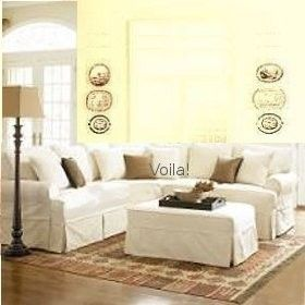 Sure Fit Sectional Slipcover Sofa Corner Decorating Style
