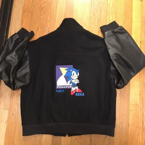 jacket Sonic Hedgehog SEGA Video Game...