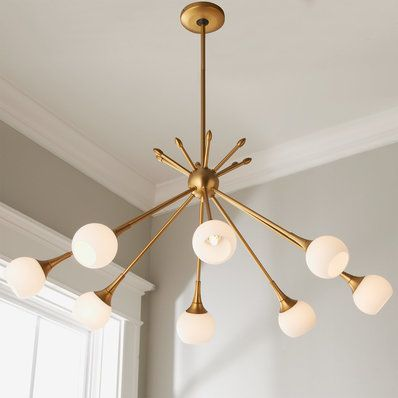 Mid Century Modern Mobile Chandelier 6 Light In 2020 Mobile Chandelier Mid Century Modern Chandelier Modern Mobile