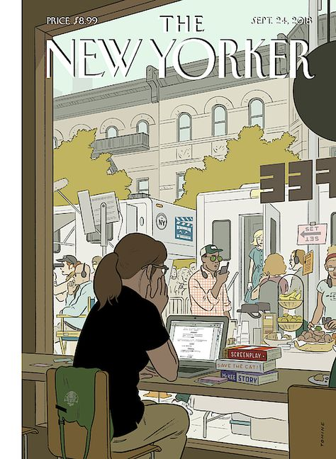 Fourth Wall by Adrian Tomine