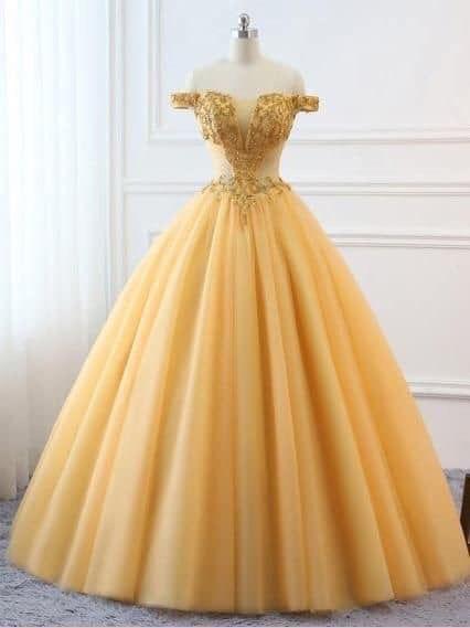 Amarillo En 2019 Vestidos Amarillos Largos Vestidos De