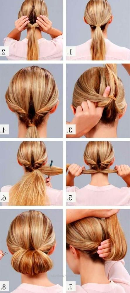 Easy Updos For Medium Hair Up Dos For Medium Hair Simply Hairstyles Wedding Hairstyles For Medium Hair