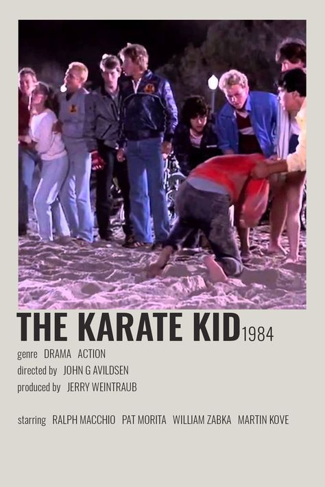 The Karate Kid by cari