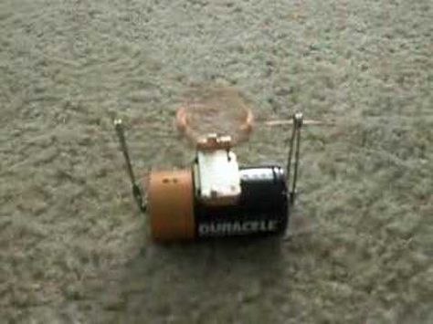 This simple fun toy motor is easy to make with only a few parts. This is a great project to build with a child. It requires only a battery, two safety pins, a magnet and a short length of magnet wire. This kid friendly project is great for science fairs. Also great for a STEM or science project for elementary, middle or high school. Also found o...