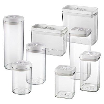 Felli Flip Tite Acrylic Canisters Target With Images Food