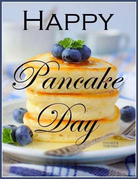 It's pancake day! ❤️