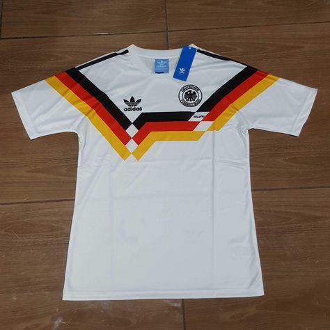 1990 Germany Home Shirt Di 2020
