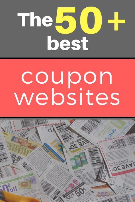 The 50 best FREE coupon websites to help you save up to 90 or even more. Extreme Couponing Tips, How To Start Couponing, Couponing For Beginners, Couponing 101, Free Coupons Online, Free Coupons By Mail, Best Coupon Apps, Coupon Websites, Discount Websites