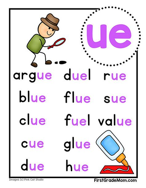 Free printable vowel team charts for first grade! These colorful charts include words for students to practice reading and cover ai, ea, ie, oa, and ue words. Phonics Reading, Teaching Phonics, Phonics Activities, Kindergarten Reading, Kids Reading, Reading Skills, Teaching Reading, Teaching Resources, Phonics Chart