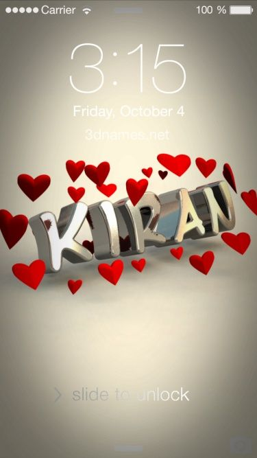Preview Of In Love For Name Kiran Name Wallpaper Anime Wallpaper Phone Birthday Wallpaper Deepika name wallpaper hd download