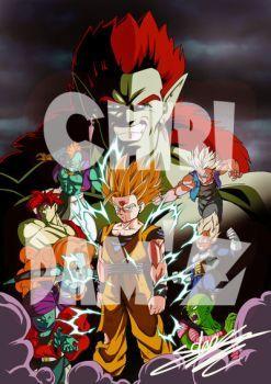 Dragon Ball Z : Les Mercenaires De L'espace : dragon, mercenaires, l'espace, Mercenaires, L'espace, ChibiDamZ, Warriors,, Dragon, Anime