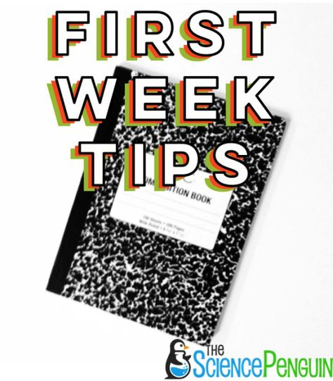 Science Notebook Tips from The Science Penguin