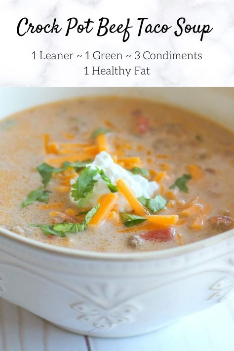 Crock Pot Healthy, Healthy Cooking, Healthy Recipes, Lean Protein Meals, Lean Meals, Crock Pot Slow Cooker, Crock Pot Cooking, Crockpot Recipes, Soup Recipes
