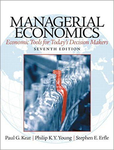 Solution Manual Managerial Economics 7th Edition By Paul