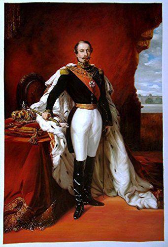Franz Xaver Winterhalter The Emperor Napoleon III Giclee Canvas Print Poster