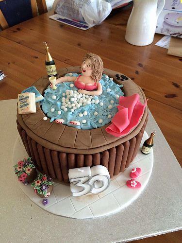 Hot Tub Cake Google Search Cake
