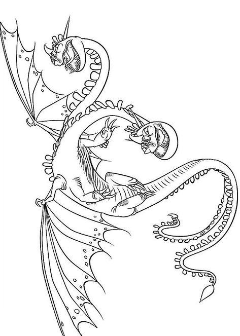 33 Disegni Di Dragon Trainer 1 E 2 Da Colorare Pagine Da