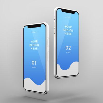 Realistic Smartphone Mockup With Editable Wall High Resolution Psd Mobile App Mockup Psd Free Download For Iphone Mockup Free Iphone Mockup Logo Design Mockup