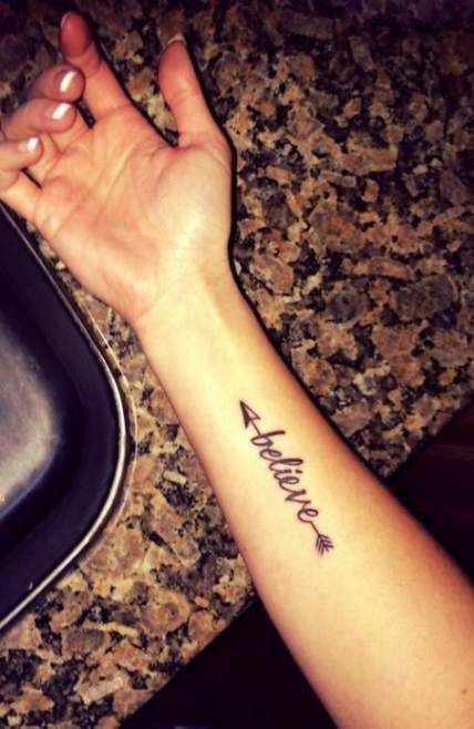 22 Ideas Tattoo Arrow Design For Girls Quotes Tattoo Quotes
