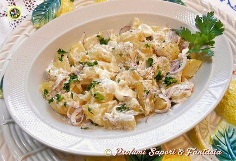 Insalata di patate alla tedesca | Profumi Sapori & Fantasia