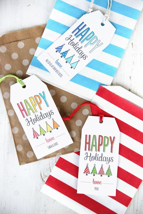 Printable-gift-tags from Our Best Bites (plus 10 awesome treats to go with them!)