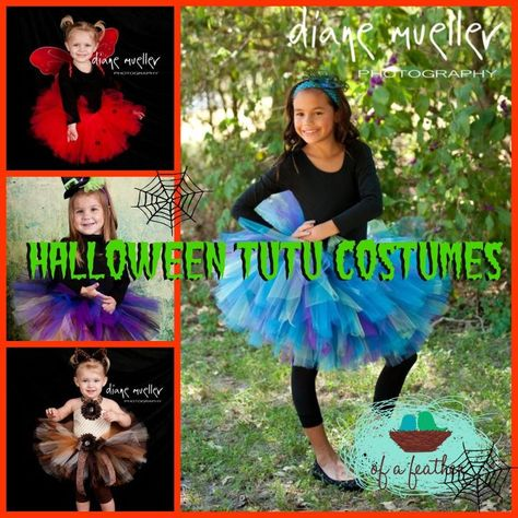 Awesome Halloween Tutu Costumes!