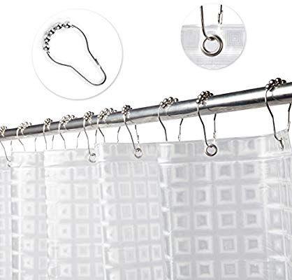 13+ Argollas para cortinas de bano ideas