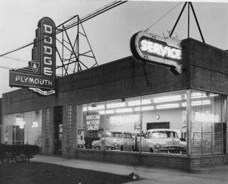 Wyandotte Dodge Dealership 1940s Wyandotte Dodge Dealership Detroit History