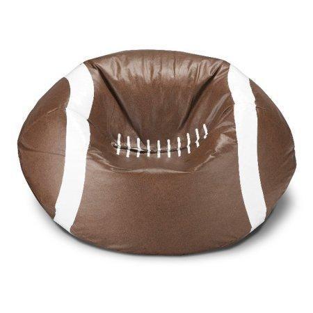Kids Children Teens Football Bean Bag Chair Bedroom Playroom Game Room Seating Furniture Football Bean Bag Bean Bag Chair Football Bedroom