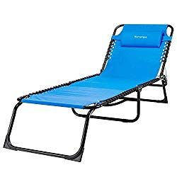 Patio Furniture For Over 300 Lbs.Homemaxs Lounge Chair Chaise Folding And Adjustable Zero Gravity