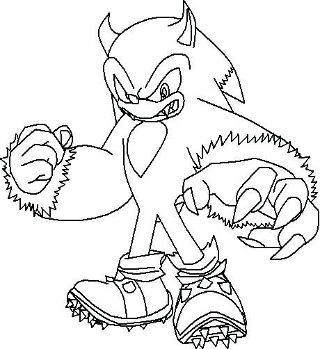 Scourge The Hedgehog Coloring Pages Coloring Pages Cute