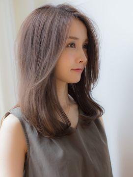 2019年冬 Violet 前髪なし大人めミディアム Violet 表参道店