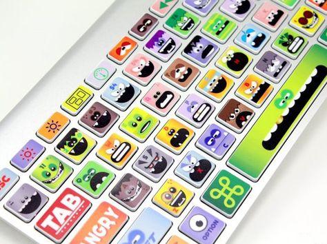 Little Monsters Keyboard Skin
