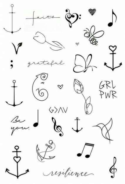 petit tatouage