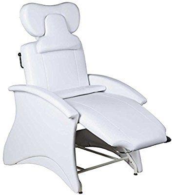 : Icarus Mila White Lash Chair : Beauty   Lashes