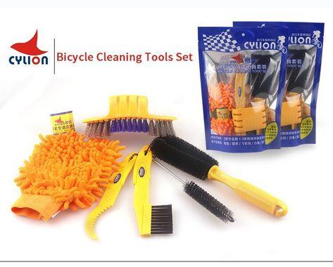 Cylion Velo Kit De Nettoyage Brush Set Pour Vtt Route Roue De