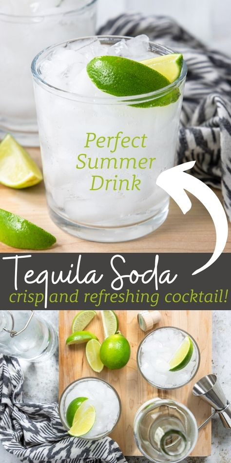 Cocktails Vodka, Refreshing Cocktails, Cocktail Drinks, Cocktail Recipes, Alcoholic Drinks, Sweet Cocktails, Simple Tequila Drinks, Simple Mixed Drinks, Fancy Drinks