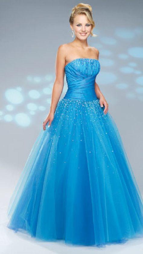 Blue prom dresses 2012 for girls