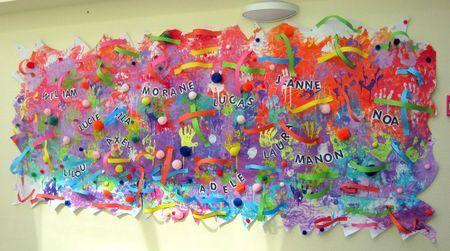 Patouille Collective Le Tour De Mes Idees Art Jeunes Enfants Arts Plastiques Maternelle Fresque