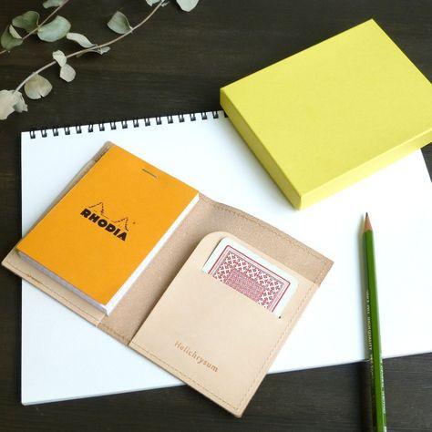 Thin Dark Brown Distressed Goatskin Leather Hide Bookbinding Journal