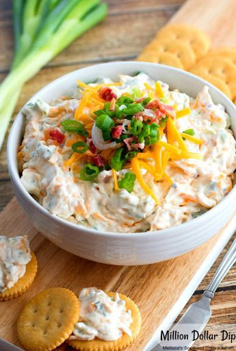 Million Dollar Dip Recipe Yummly Recipe Melissas Southern Style Kitchen Appetizer Menu Recipes Appetizers And Snacks