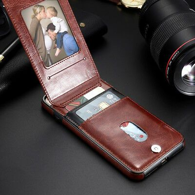 Details About For Iphone 11 Pro Max Xr Xs Max 7 8 Vertical Flip Case Card Slot Leather Cover 2020 수제 가죽 가방 가방 가죽