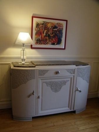 Nouvel Meuble art-déco peint à Levallois-Perret | Meubles art deco LK-43