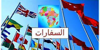 عناوين وأوقات عمل جميع السفارات العربية والأفريقية Wind Sock Blog Blog Posts