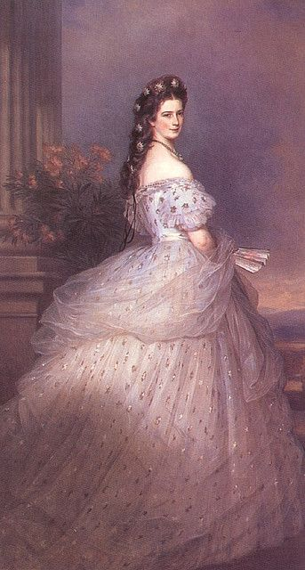 ...Empress Elizabeth of Austria...