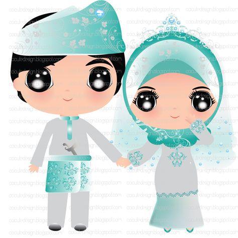 List Of Pinterest Siluet Wedding Couple Muslim Ideas Siluet