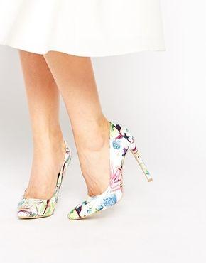 New Next Signature Ladies Nude Patent Leather High Heel